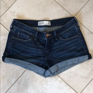 Abercrombie & Fitch Low Rise Jean Shorts- Size 4